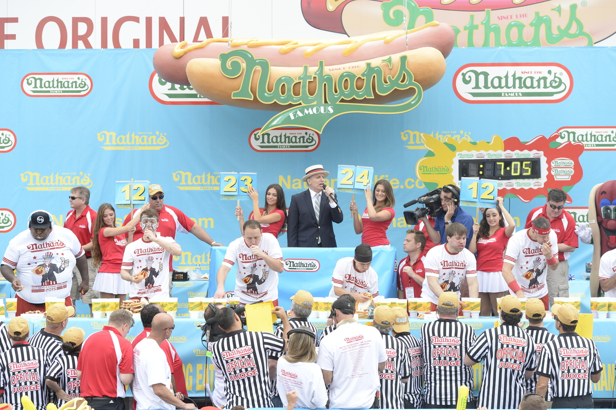 Nathan's Contestants | Image courtesy of Nathan's Famous, INC.