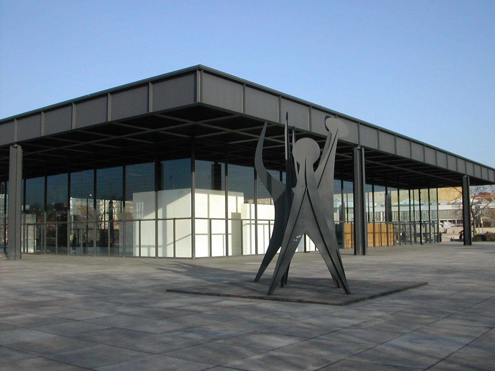 Neue Nationalgalerie | © User:Harald Kliems/WikiCommons