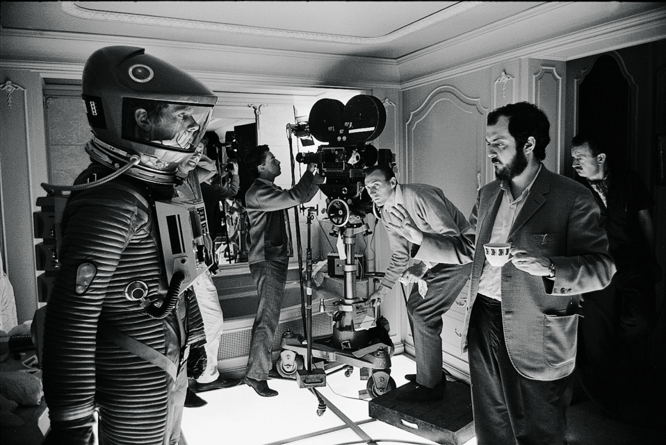 Stanley Kubrick on the set of 2001: A Space Odyssey|©Warner Brpthers Pictures/Somerset House