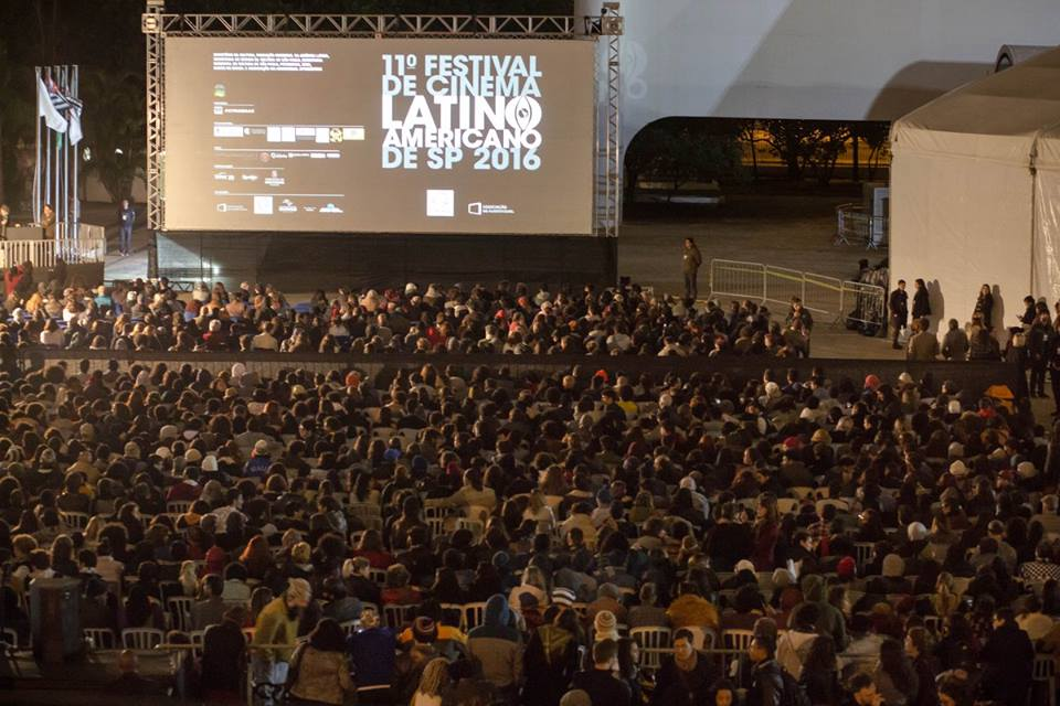 Opening night at the Latin America Film Festival of São Paulo | courtesy of Festival de Cinema Latino-Americano de São Paulo