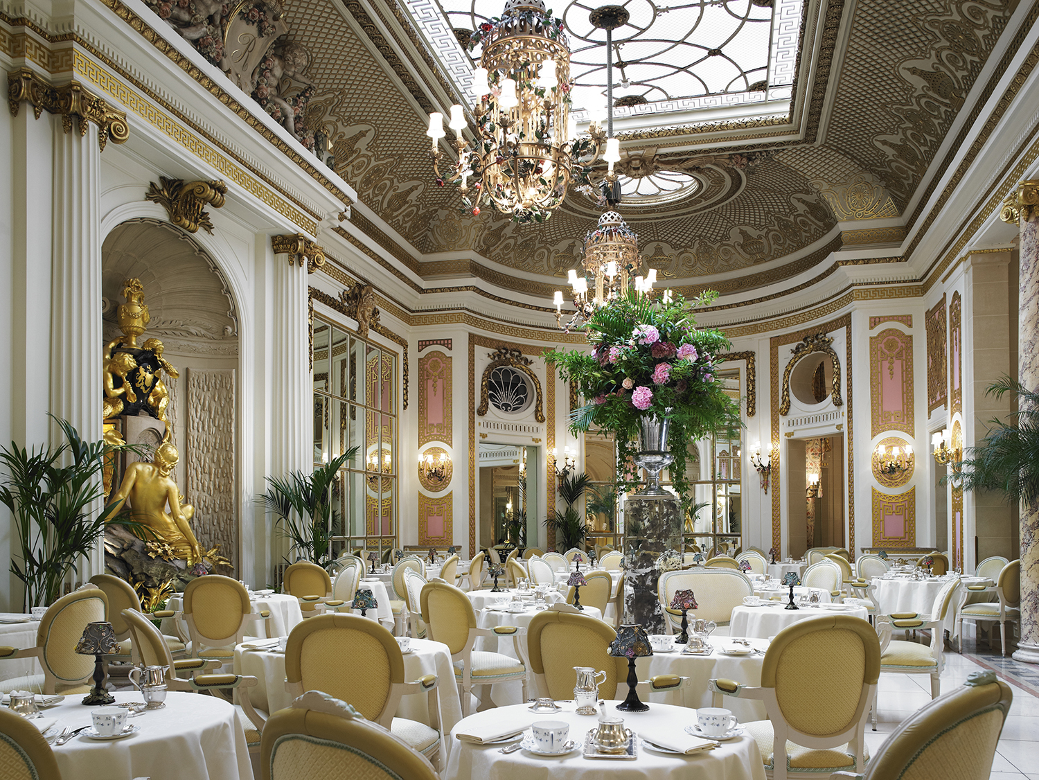 The Palm Court at The Ritz | Courtesy of The Ritz