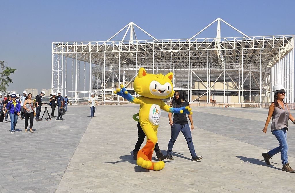 Vinicius, the 2016 Summer Olympic Mascot | © NMaia/WikiCommons