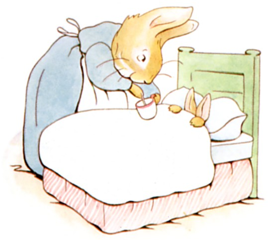 Illustration from The Tale of Peter Rabbit | © The Gutenberg Project / WikiCommons