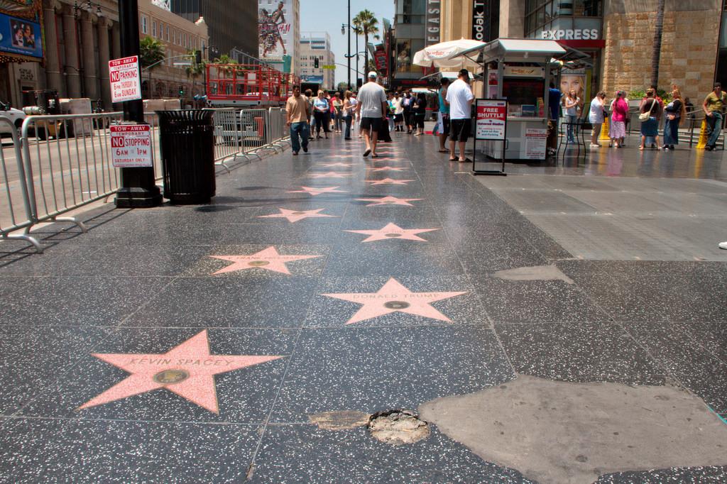 Hollywood Walk of Fame © Christian Haugen/Flickr