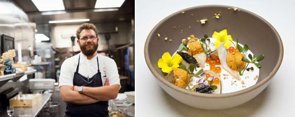 Chef Michael Cimarusti and The Ugly Bunch (credit: Noe Montes)