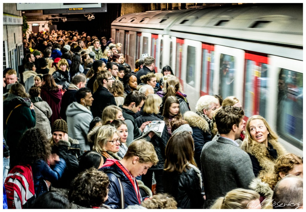 Crowding on the London Underground | © Elad Rosenberg/Flickr