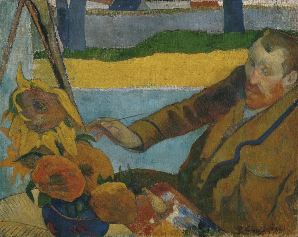 Paul Gauguin, The Painter of Sunflowers, 1888 | WikiCommons