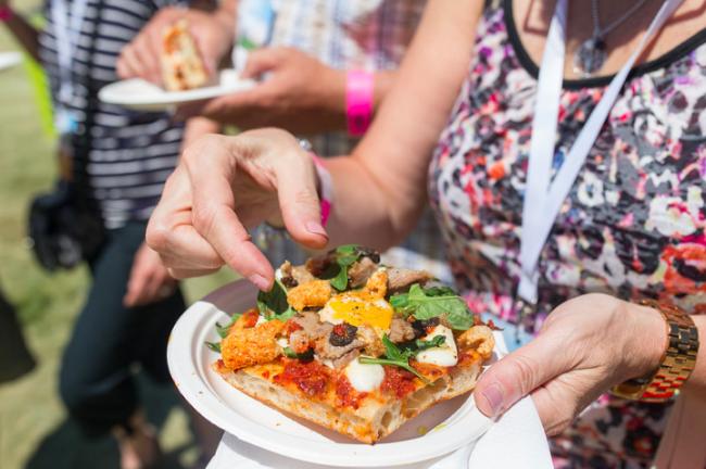 Porchetta Pizza | © Sarjoun Faour/Courtesy of Taste of Toronto