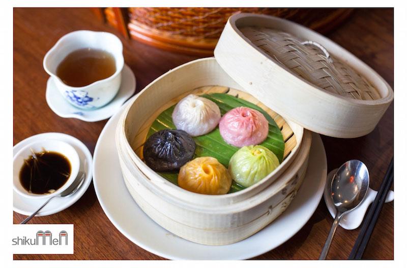 Shikumen are providing a new selection of coloured xiao long bao (soup dumplings)| Courtesy of Shikumen/FourteenTen