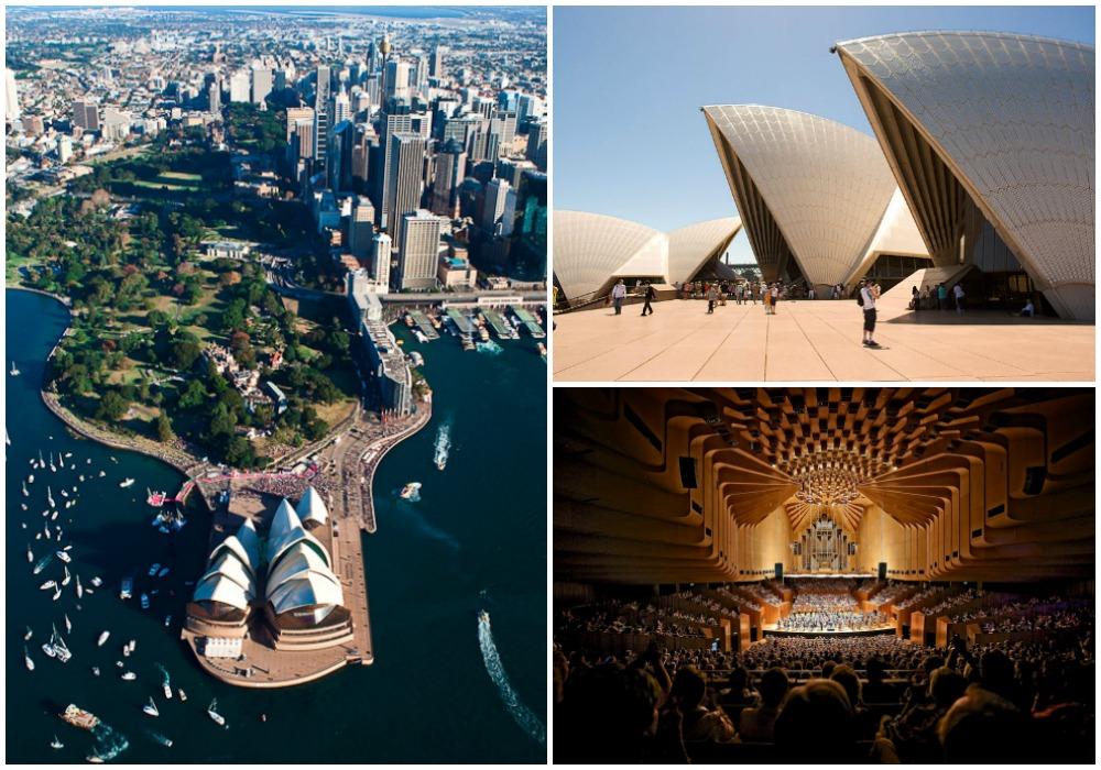 Sydney Opera House | © Tanya PW / Flickr // © Rtype909 / WikiCommons // © Jason James / Flickr