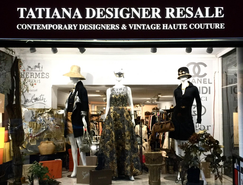 Not only does this shop offer exposure to the most eccentric, fashion-forward designs from Givenchy to Max Mara - it also sells pieces with history © Courtesy of Tatiana Designer Resale