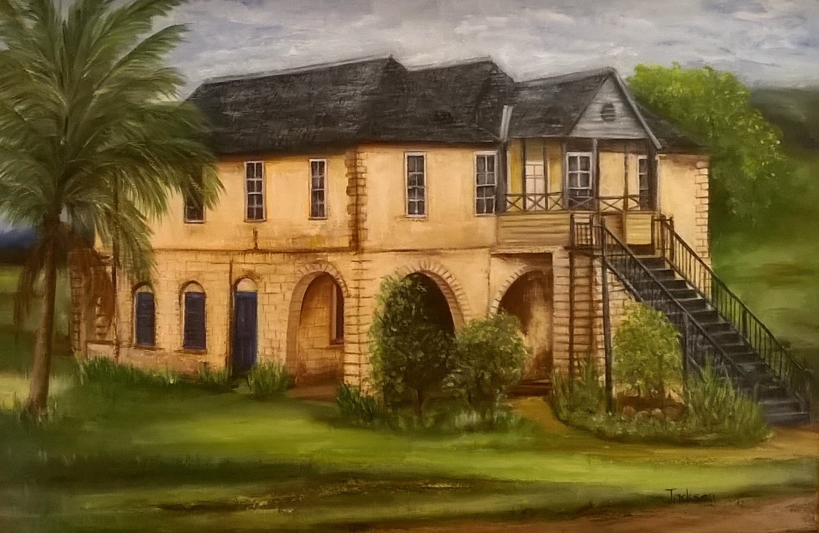 Great House|Courtesy of Creative Framing & Art Gallery
