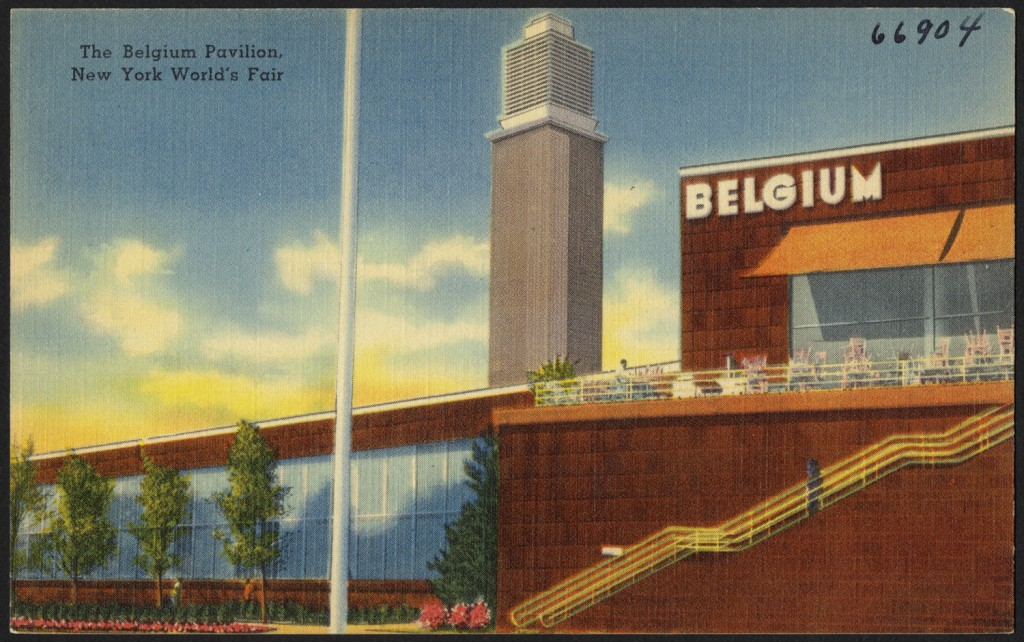 The Belgian pavilion during the New York World Expo in 1964, where the small country's waffles were quite the new rage | © Boston Public Library/Wikimedia Commons