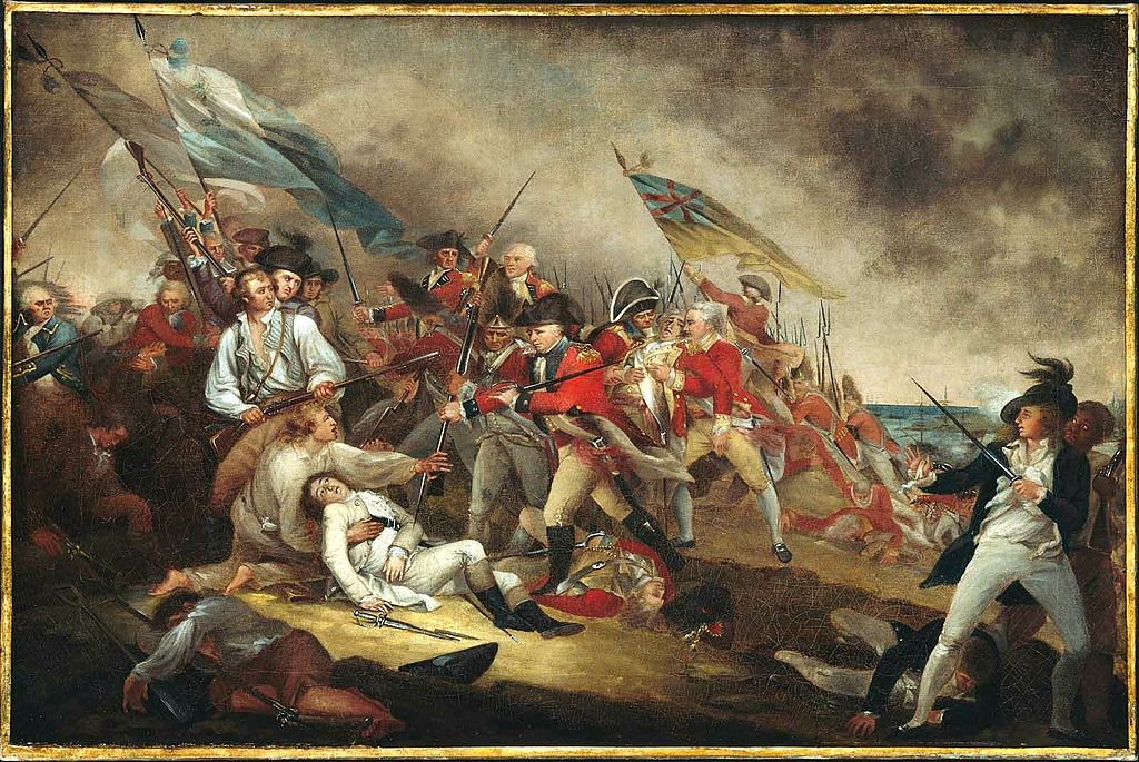 The death of general warren at the battle of bunker hill | © From the Boston Museum of Fine Arts, accession #1977.853/WikiCommons