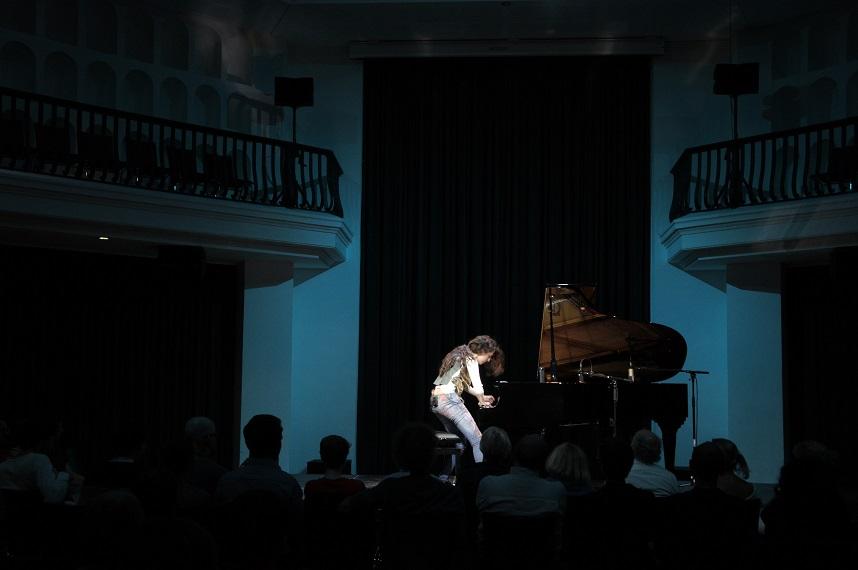 AyseDeniz Gokcin in concert  Courtesy of Erik Odelberg
