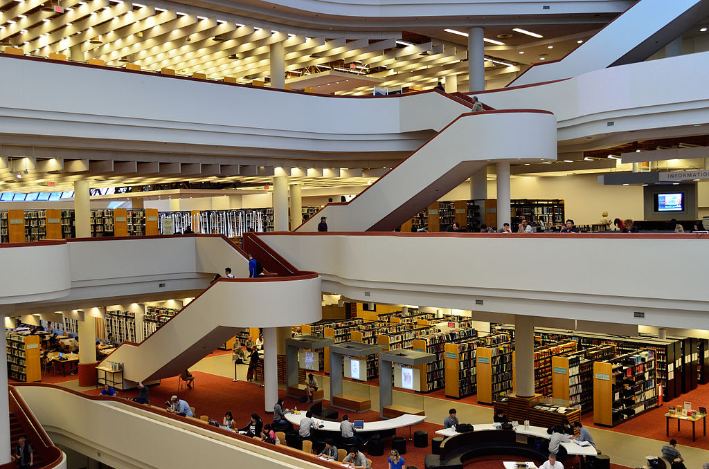 Toronto Reference Library | © Raysonho @ Open Grid Scheduler / Grid Engine/WikiCommons