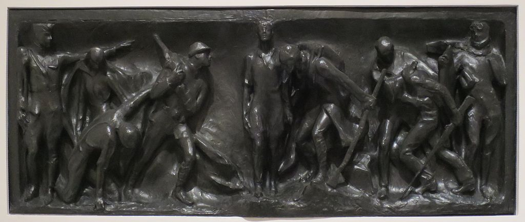 'War Panel for the Victory Arch' by Gertrude Vanderbilt Whitney, Wolfsonian-FIU Museum I | © Wmpearl/WikiCommons
