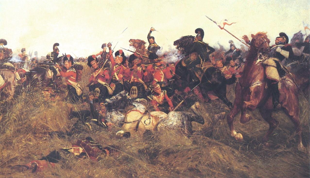 Wollen, Battle of Quatre Bras | © WikiCommons