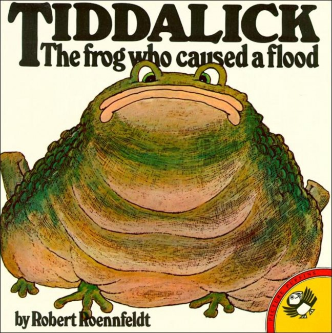Tiddalick, the frog who caused a flood | © Puffin