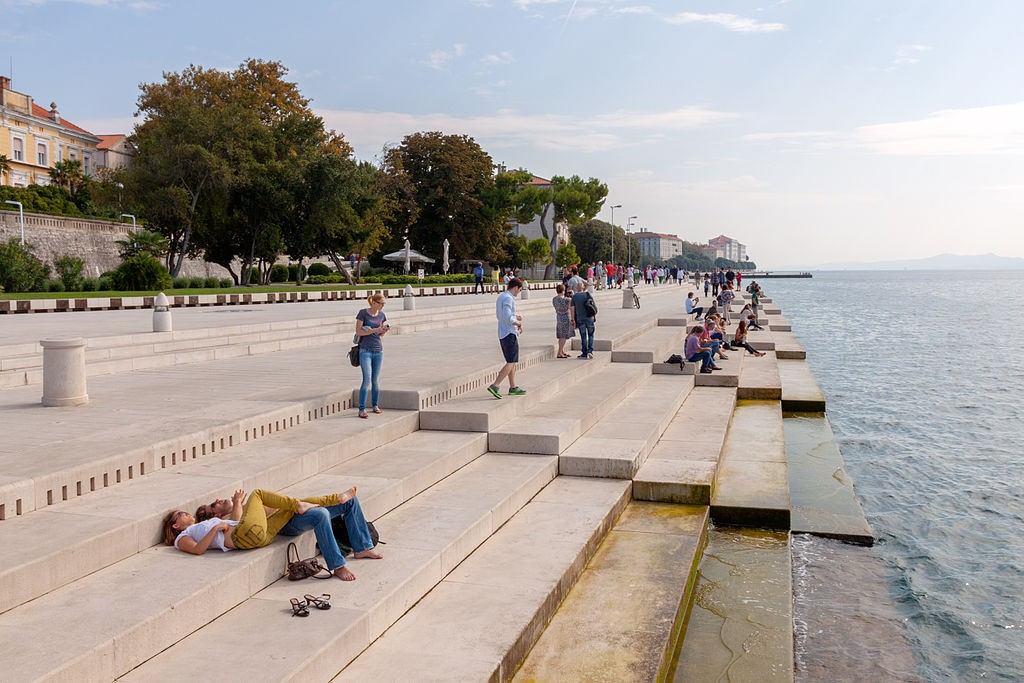 Sea Organ, Zadar | © Ben Snooks/WikiCommons