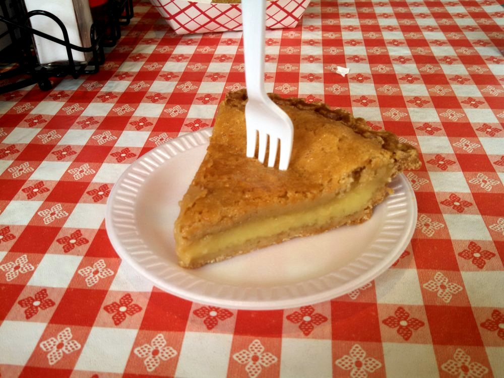 Gus's World Famous Fried Chicken, Chess Pie | Courtesy of Cheryl Phipps