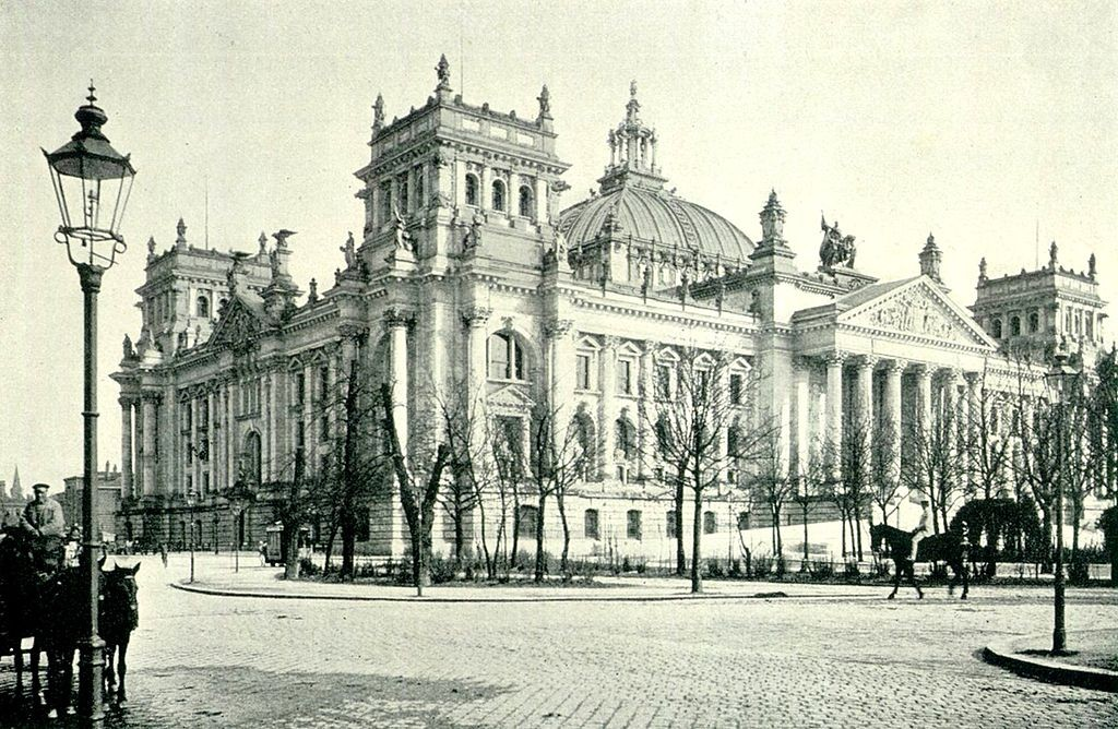 Reichstag in 1895   © 1970gemini/WikiCommons