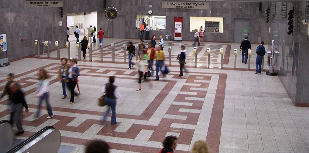 Syntagma metro station | © Badseed / Wikimedia Commons