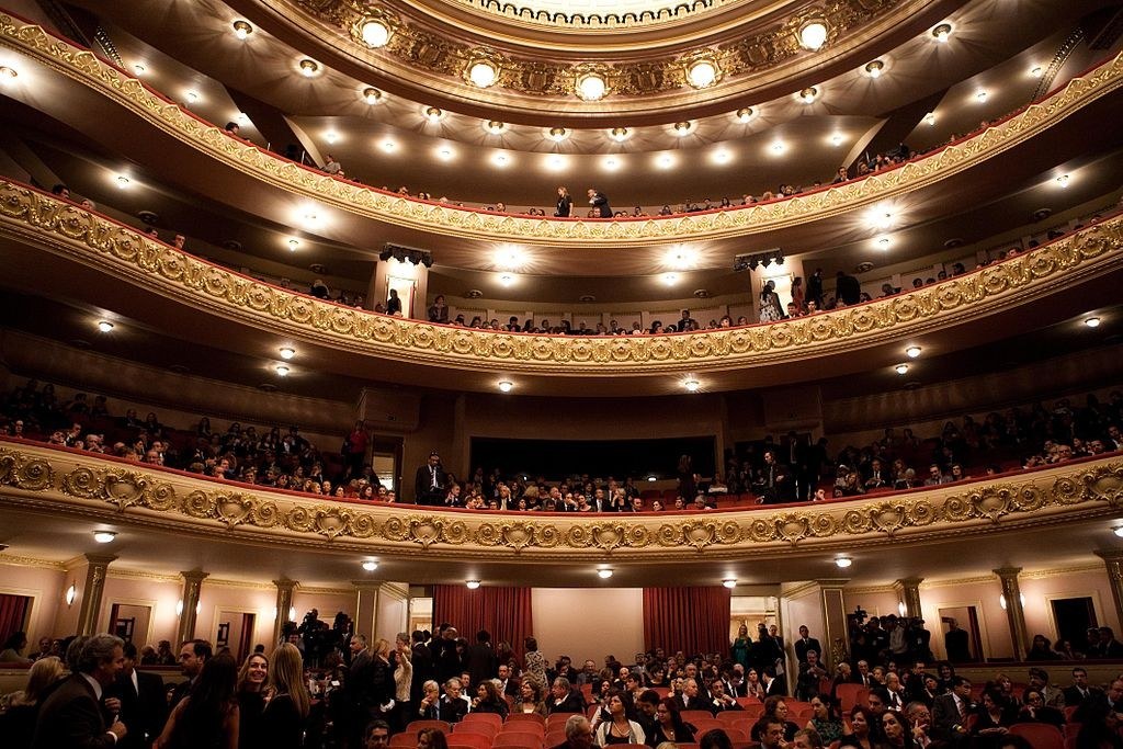The inside of the theater | © Boing-boing/WikiCommons