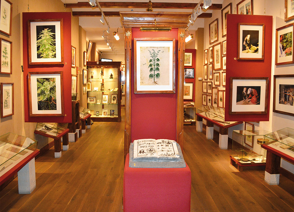 The Hash, Marihuana & Hemp Museum in Amsterdam | © Didier le Ger / WikiCommons