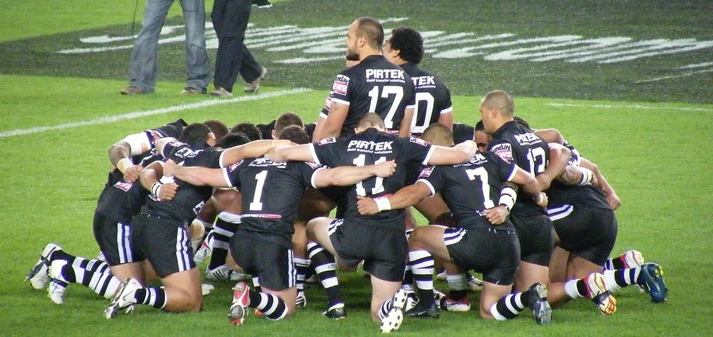 New Zealand National Rugby League team 2008   © paddynapper / WikiCommons