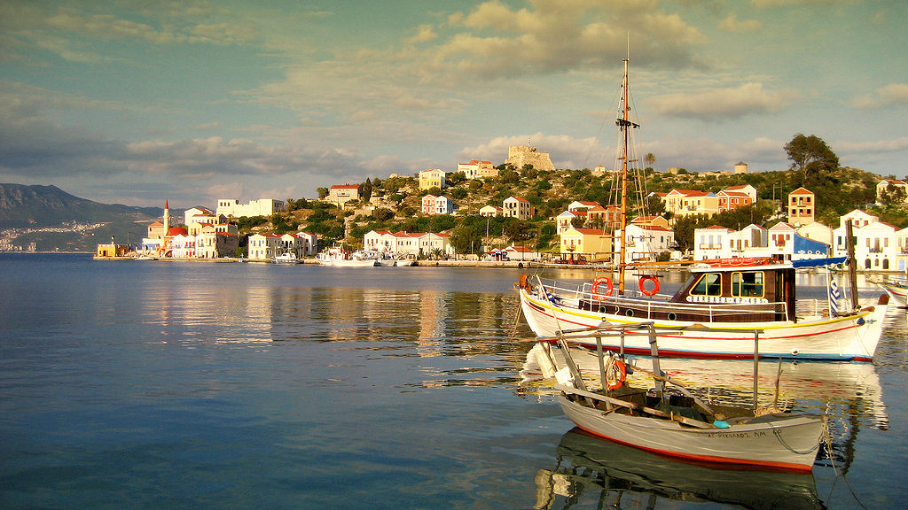 Port of Kastellorizo | © Chris Vlachos/WikiCommons