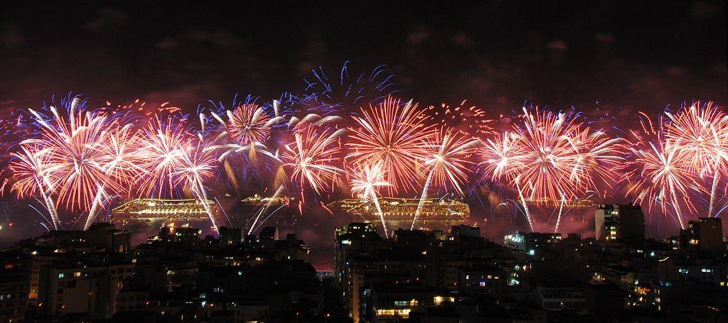 New Year's Eve at Copacabana |© File Upload Bot (Magnus Manske)/WikiCommons