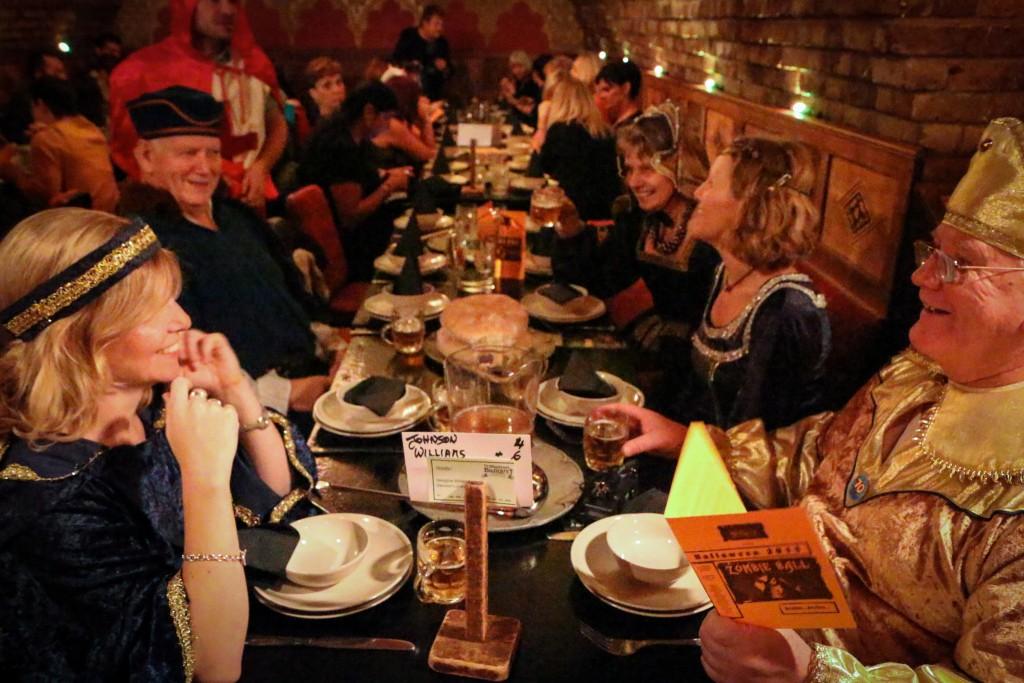 Medieval Feast, © Barney Moss/Flickr