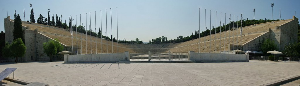 Entrance of the Panathenaic Stadium |© Bgabel /WikiCommons
