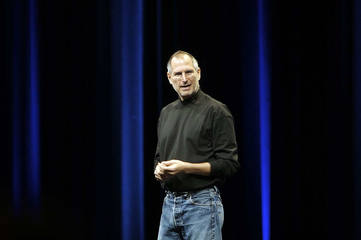 Steve Jobs © Ben Stanfield/Wikipedia