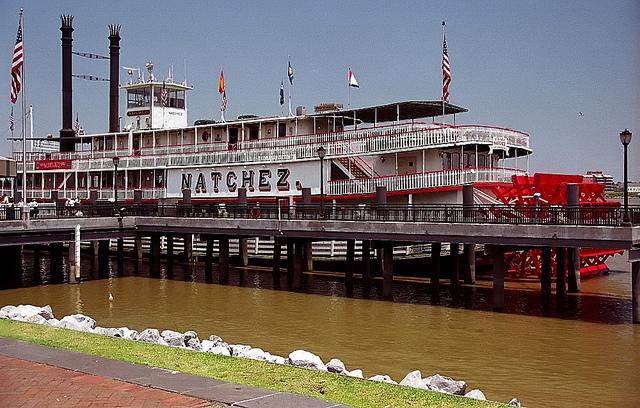 Natchez Steamboat | © David Ohmer/Flickr