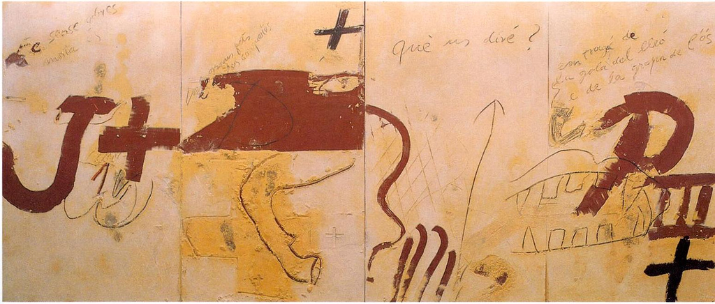 Les Quatre Grans Cròniques - Antoni Tàpies | © Xavier Caballe / Flickr