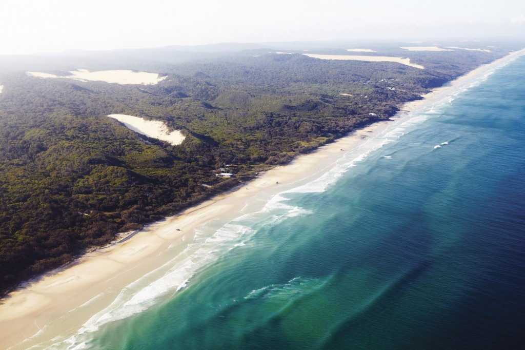 Fraser Island   Courtesy of Tourism Australia © Maxime Coquard