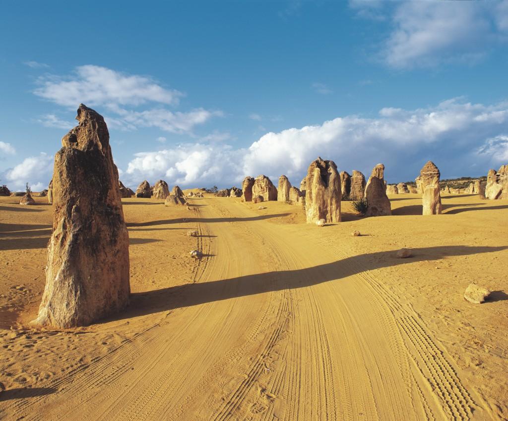Pinnacles, WA | Courtesy of Tourism Australia © Lincoln Fowler