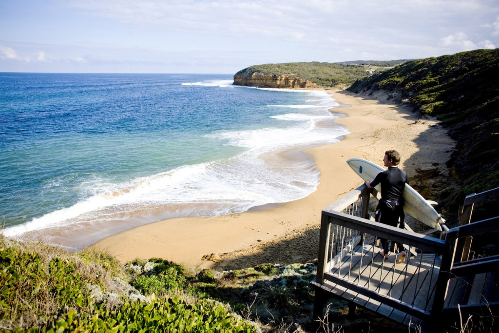 Surfer, Bells Beach, VIC | Courtesy of Tourism Victoria © Mark Chew