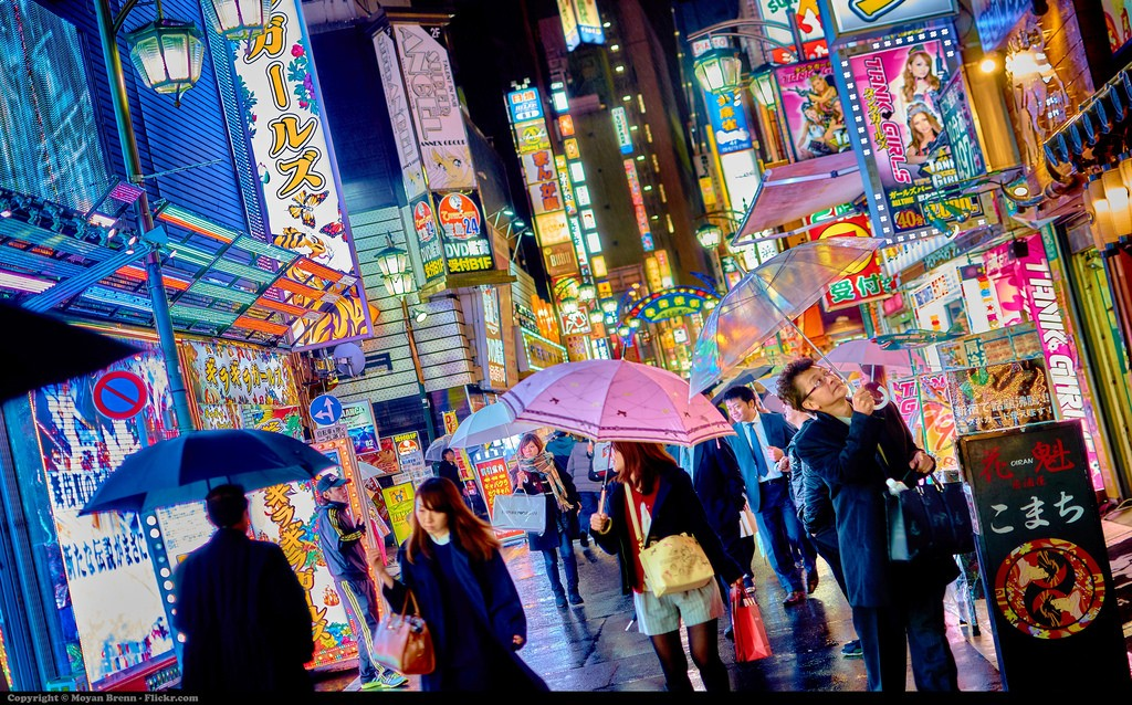 A view of Kabukicho, Japan's largest red light and entertainment district where Emiri worked   © Moyann Bren/Flickr