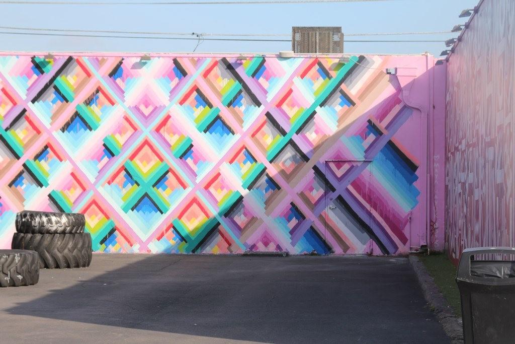 Mural by Maya Heyuk, Wynwood Walls | mffitzgerrald/Flickr