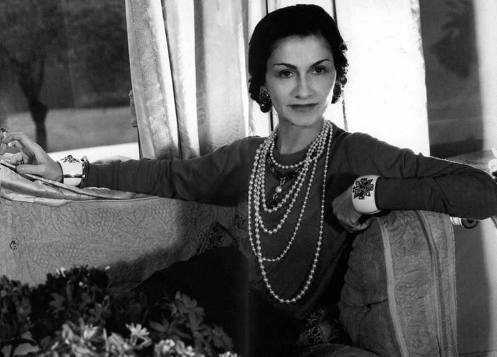 Portrait of Coco Chanel by Boris Lipnitzki © The Coincidental Dandy/Flickr