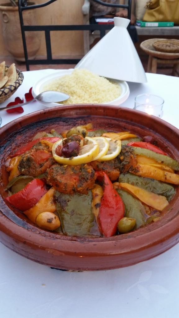 Dinner at Dar Attajmil in Marrakech | Copyright Mandy Sinclair