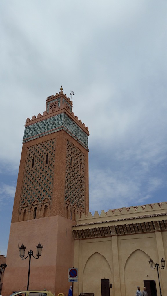 Kasbah Mosque in Marrakech Copyright Mandy Sinclair