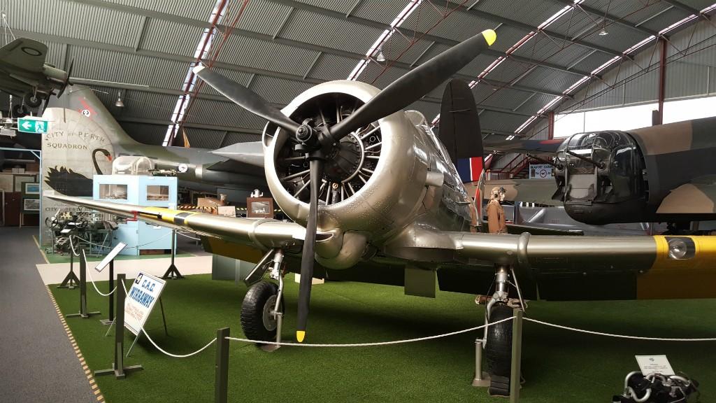 Plane | Courtesy of Aviation Heritage Museum