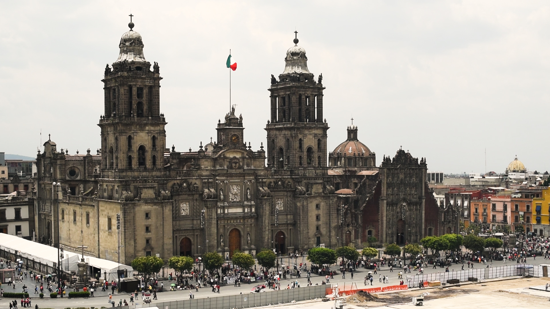 history of mexico city s metropolitan cathedral in 60 seconds