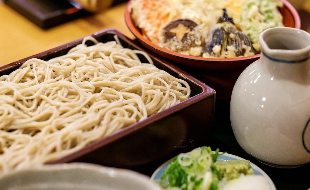 Soba set meal | © Matthew Hine/Flickr