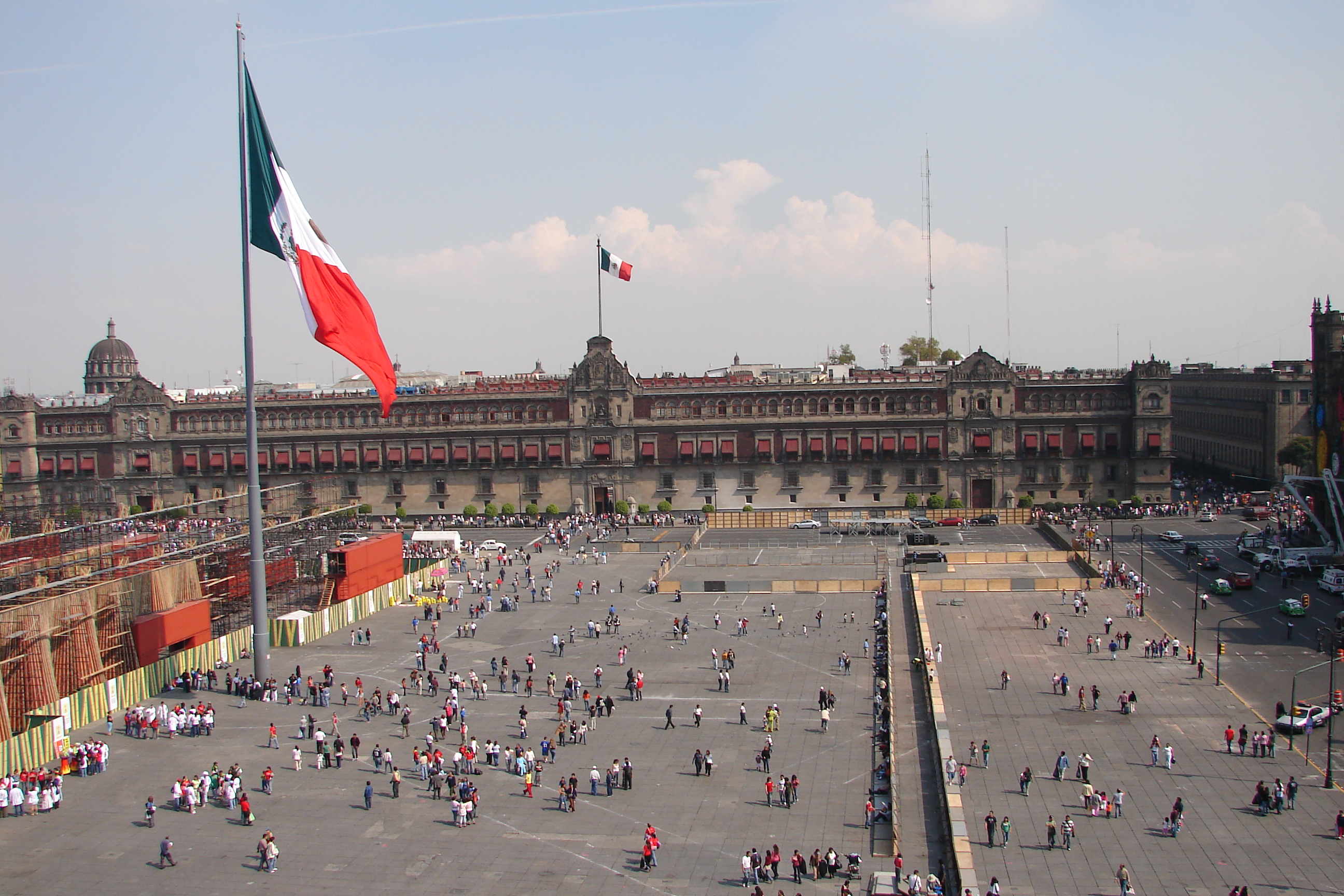 Zócalo, Mexico City | © Antony Stanley/Flickr