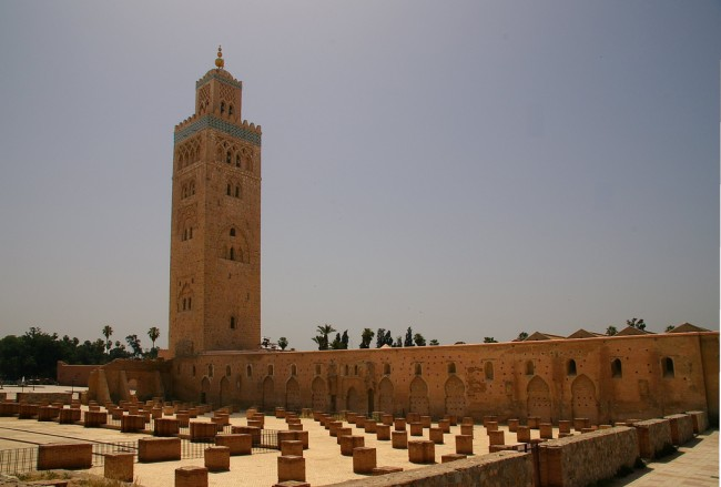 history of koutoubia mosque in 1 minute. Black Bedroom Furniture Sets. Home Design Ideas